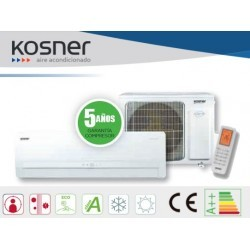 KOSNER AC UNIT KSTi09/25 F COLD  A++ 2.7 KW CONSUME .820 KW HOT A +++ 2.8 KW CONSUME .755 KW SEER 6.8/5.1 SCOP SUPPLIED AND INSTALLED STANDARD INSTALLATION INC IVA
